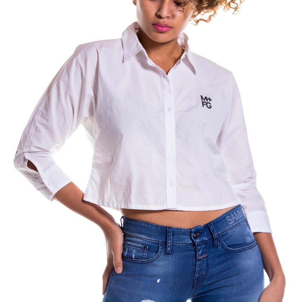 4b9282f04 camisa para mujer camisa m l marithe francois girbaud - Girbaud Colombia