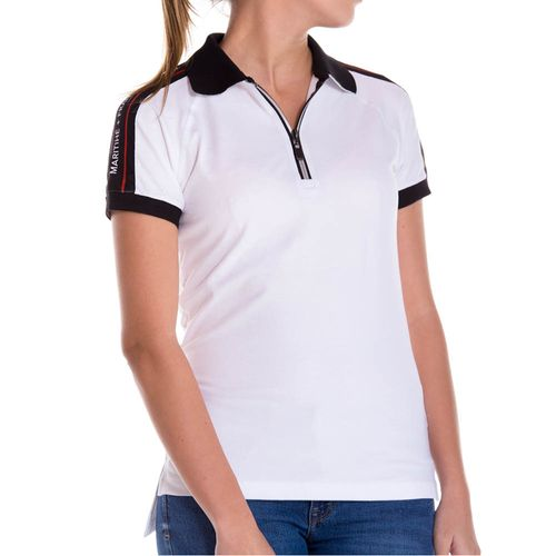 Camiseta-Polo-Para-Mujer-Marithe-Francois-Girbaud