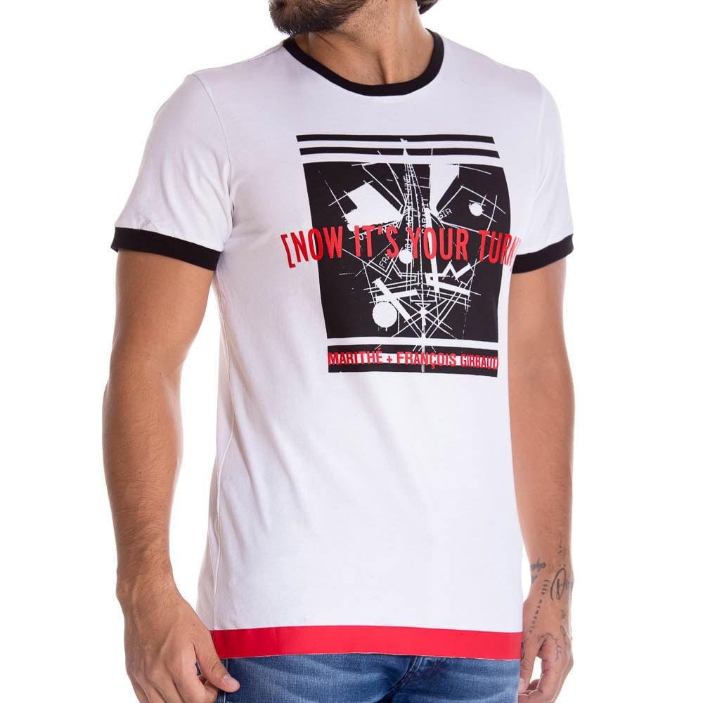 61b30d7dba Camiseta M C Para Hombre Marithe Francois Girbaud 1289