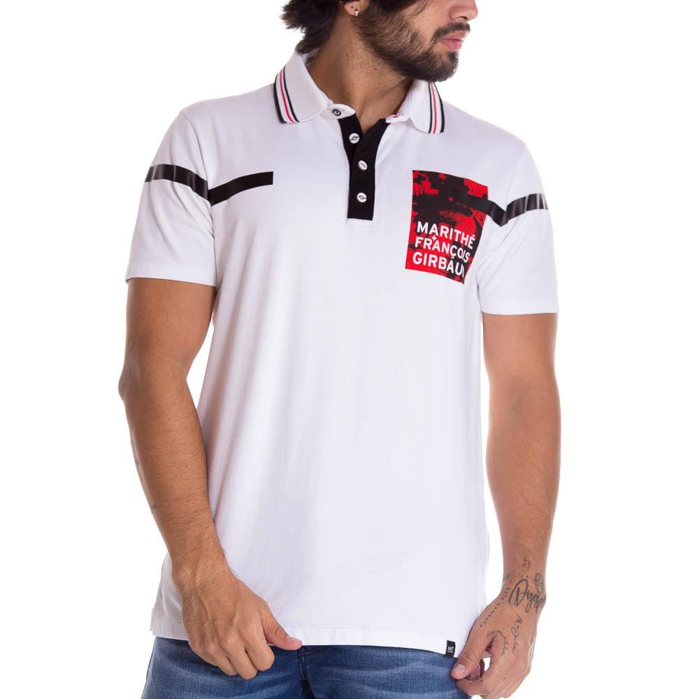 b7a4371ab3 Camisa Polo Para Hombre Marithe Francois Girbaud 1293