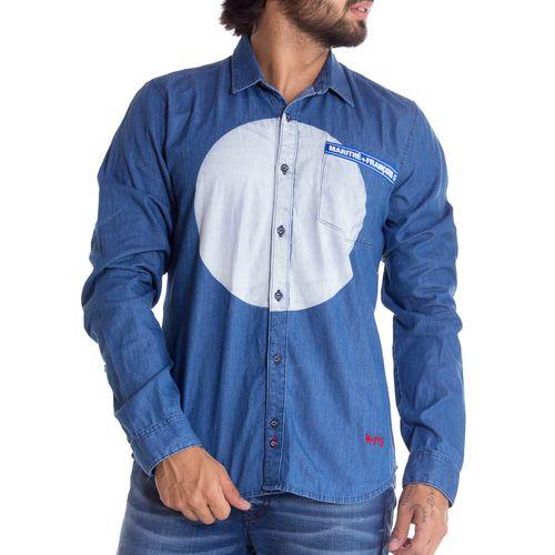 Camisa-Manga-Larga--Para-Hombre-Marithe-Francois-Girbaud