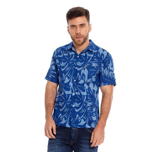 Camisa-Para-Hombre-Hawaiana-Marithe-Francois-Girbaud