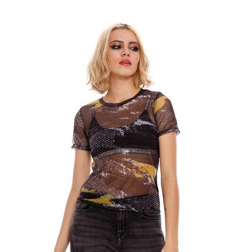 Camiseta-Para-Mujer-Girbaud