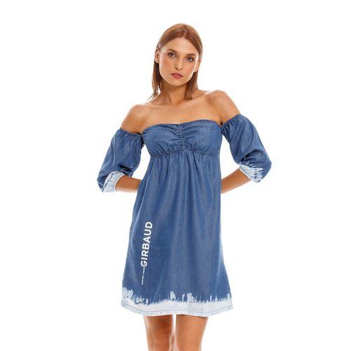 Vestido-Corto-Para-Mujer-Girbaud-